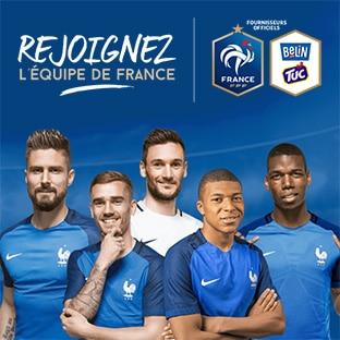 Jeu Belin / Tuc Rejoignez l'équipe de France