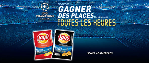 Jeu Lay's game-ready.com : 11 022 lots UEFA Champions League