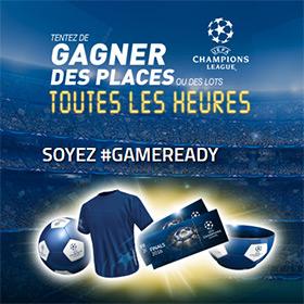 Jeu Lay's game-ready.com : 11 022 lots UEFA Champions League