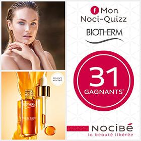 Jeu Nocibé : 31 lots de cosmétiques Biotherm à gagner