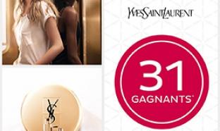 Jeu Nocibé : 31 lots de cosmétique Yves Saint Laurent à gagner