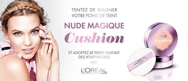 Gagnez le Nude Magique Cushion de L'Oréal Paris