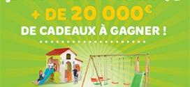 Concours Toys'R'Us : + de 20'000€ de jeux d'extérieur à gagner