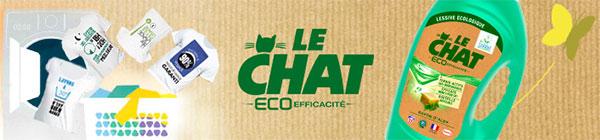 lessive Le Chat Eco-Efficacité