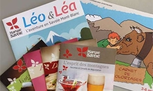 Cadeaux La Marque Savoie : Livrets de recettes, de coloriages ...