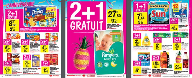Catalogue Anniversaire Carrefour Market 2017 : Les promotions