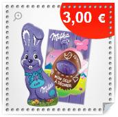 3€ de réduction sur les chocolats Milka