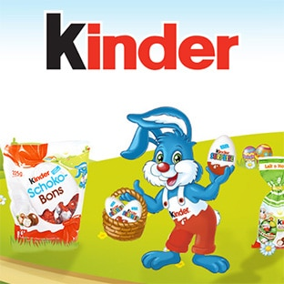 Coupons reduction kinder