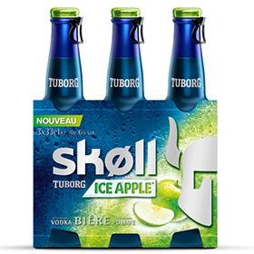 Test de bière Skoll Ice Apple : 3000 bouteilles gratuites