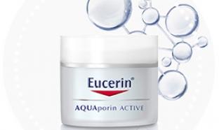 Test du soin EUCERIN AQUAporin ACTIVE : 100 gratuits