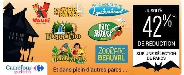 Promotions sur les parcs Astérix, Marineland, Walibi, le zoo de Thoiry …