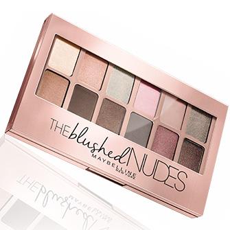 Jeu Maybelline : 100 palettes The Blushed Nudes à gagner