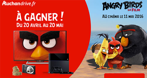 Instants gagnants Angry Birds le film