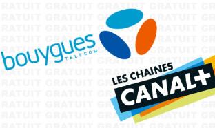 Bouygues Bbox : Chaînes Canal+ gratuites (octobre 2019)
