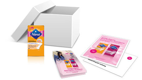 paquets de protège-lingeries Nana gratuits