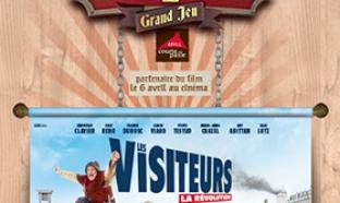 Jeu Courtepaille - Les Visiteurs
