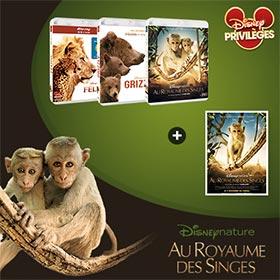 Jeu Disney Privilèges : 60 Blu-Ray Disney Nature à gagner