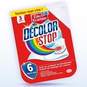 Échantillons gratuits de lingettes Décolor Stop et réductions