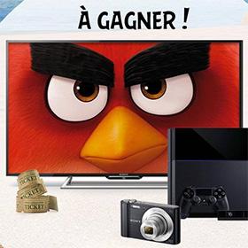 Auchan Drive Jeu Angry Birds: 615 cadeaux (ps4…) à gagner