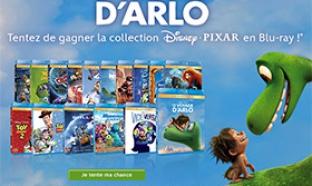 Jeu Disney Privilèges : 16 Blu-ray Disney / Pixar à gagner