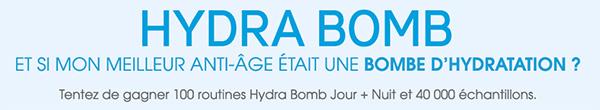 40'000 échantillons Hydra Bomb de Garnier