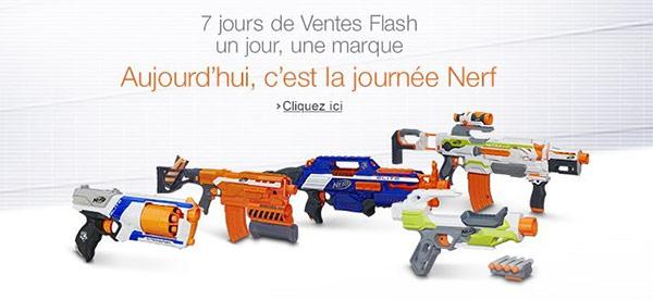 Promos jouets Nerf