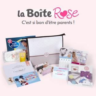 Jeu La Boîte Rose : 2600 coffrets de naissance gratuits