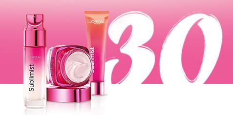 5000 échantillons gratuits et 200 kits Beauté L'Oréal à gagner