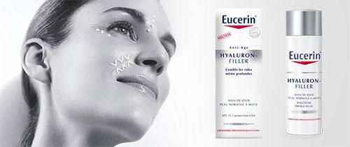 5000 soins Eucerin Hyaluron Filler gratuits à tester