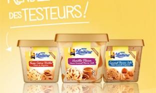 Test de glaces Dégustation La Laitière : 2000 bacs gratuits