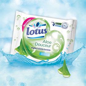 Test de papier toilette humide Lotus : 1250 paquets gratuits