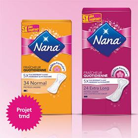 Test des protège-lingeries Nana : 4000 paquets gratuits