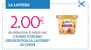 Bons de réduction La Laitière Nestlé