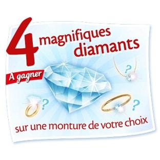 Jeu Caprice des Dieux : 4 diamants et 228 Smartbox à gagner