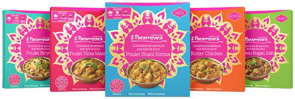 250 kits d'épices Parampara Shahi Korma gratuits avec My Home Party