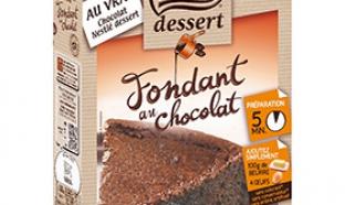 échantillon test du fondant Nestlé Dessert