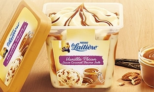 Optimisation Carrefour : Glace La Laitière presque gratuite