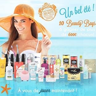 10 Beauty Bags (+ de 600€ de produits de beauté) à gagner