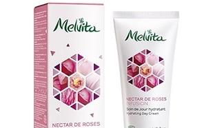 Test du soin hydratant Nectar de Roses Melvita : 100 offerts