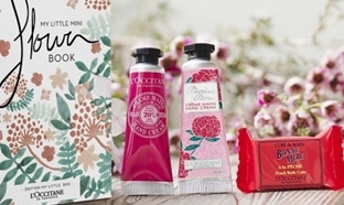 Code promo L'Occitane : Coffret Mini Flower Book offert