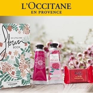 Code promo L'Occitane : Coffret Mini Flower Book offert