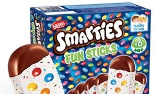 Test des Smarties Fun Sticks : 2000 boîtes de glace gratuites