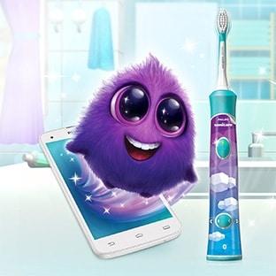 test gratuit de brosse dents lectrique philips pour enfants. Black Bedroom Furniture Sets. Home Design Ideas