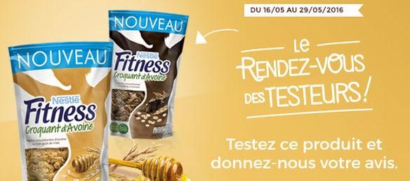 2000 boîtes gratuites de Céréales Fitness à tester
