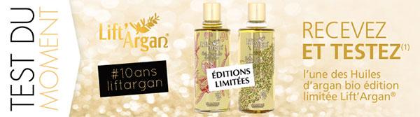 Testez gratuitement l'Huile d'argan en édition collector