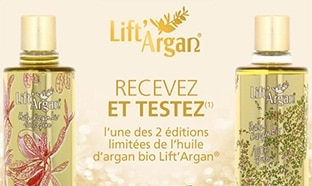 Test Léa Nature : 100 huiles Lift'Argan gratuites