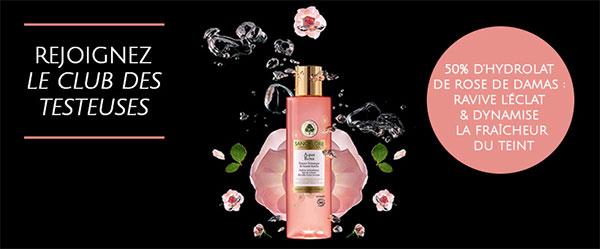 Testez gratuitement l'Aqua Rosa Sanoflore