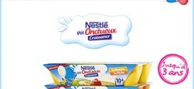 Test P'tits Onctueux Croissance de Nestlé Bébé : 1500 gratuits