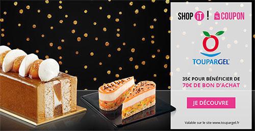 Vente Privée Showroomprive : Bon d'achat Toupargel de 70€ à 35€