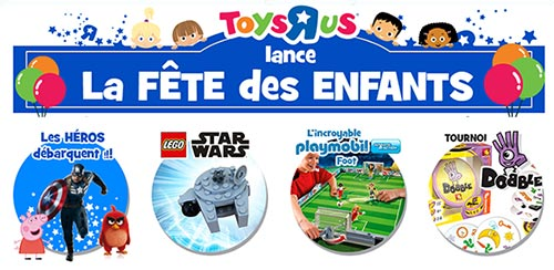 Activités et cadeaux gratuits dans votre magasin ToysRUs